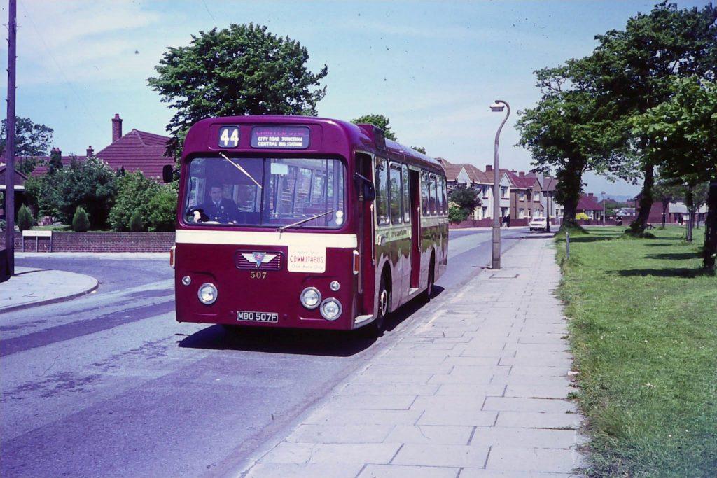 "Publicity shot for the ""Llanrumney Commutabus"" service."