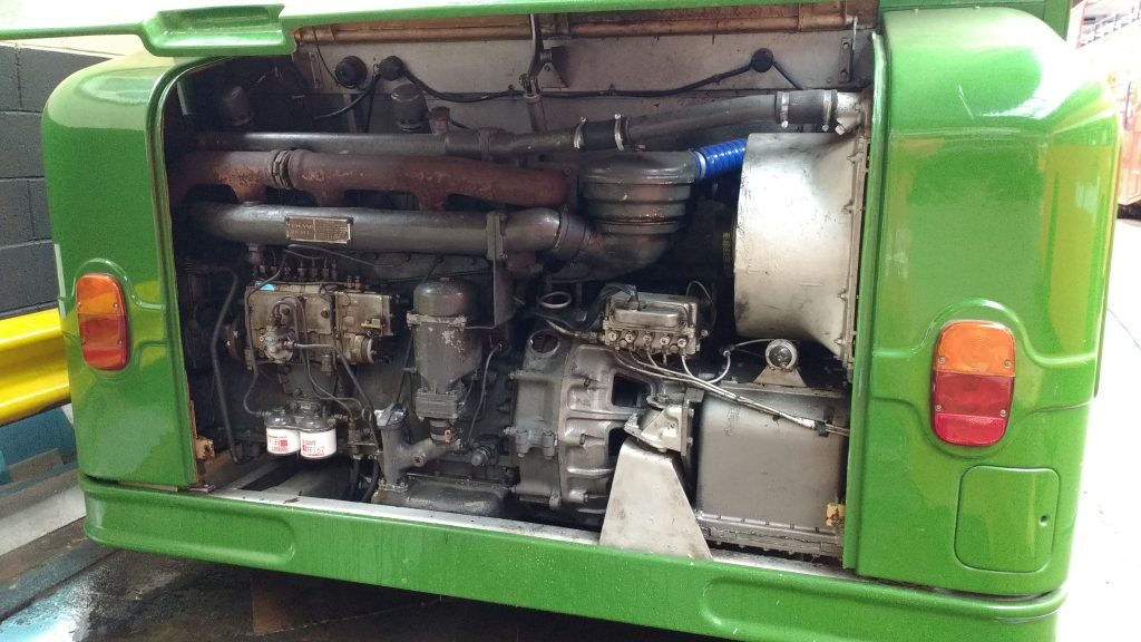 Clean engine compartment on our Atlantean